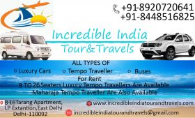 Luxury Tempo Traveller Rent In Delhi