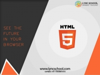 HTML training LYNC SCHOOL