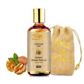 O4U Kashmiri Walnut Cold Pressed Organic Oil.