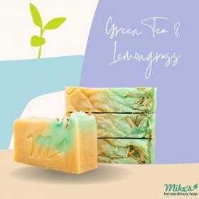 Green Tea & Lemon grass soaps