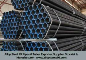 Alloy Steel P9 Pipes & Tubes