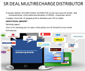 Become Online Mobile Recharge Agent Kolkata