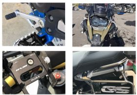 BMW Motorcycle Accessories at Outlet Biker