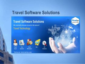 Travel agent back office software