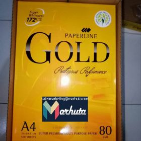 Top quality copy paper a4 80 gsm (paperline gold)