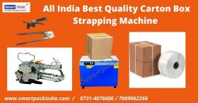 All India best Quality Carton Box strapping Machin