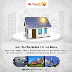 Install Solar RoofTop System for Residential