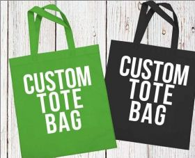 Cotton Shopping Bag, Canvas Tote Bag, Promotional