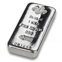 1 KG Silver Bar Pamp