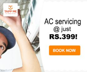 Window Ac service at 399INR