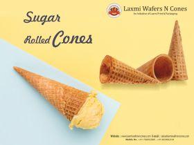Sugar rolled cone