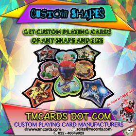 custom shaped playing cards