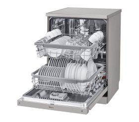 LG 14 Place Settings Dishwasher (DFB424FP, Platinu