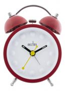 Acctim 14854 Zander Metal Mini Double Bell Clock