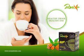 Ravya Healthy Turmeric Milk