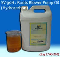 Roots Blower Pump Oil: SV-90H (Hydrocarbon)