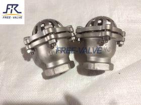 Screw foot valve