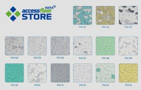 Huiya Profitable Conductive Vinyl Floor Tiles