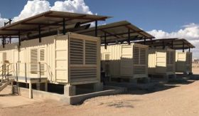 9600 KW Perkins Containerized Diesel Generator Pla