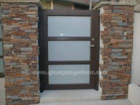Glass Garage Gates