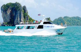 Sawasdee Phi Phi Islands Luxury Catamaran Tour