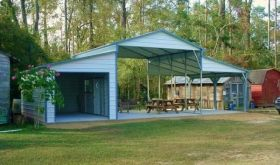 Metal Carport and Metal Garage Kits,