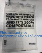 100% COMPOSTABLE BAG, 100% BIODEGRADABLE SACKS, D2