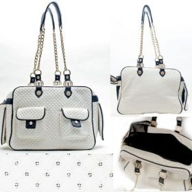White Sparkle Carry Bag