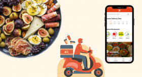 Uber for Food Delivery App