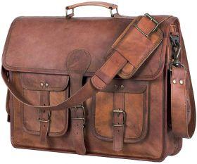 Pure Leather Handmade Messenger Bag