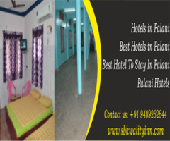 Ac Hotels in Palani | Best Hotel To Stay In Palani