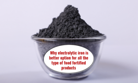 Iron powders for food fortification