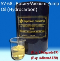 Rotary Vacuum Pump Oil: SV-68 (Hydrocarbon)