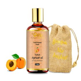 O4U Turkish Apricot Cold Pressed  Organic Oil.