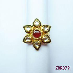 Kundan Ring - ZBR372