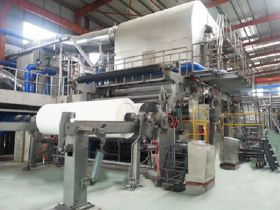 Dela with Loyal Tissue Paper Machinery Manufacture