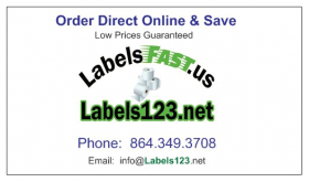 Dymo Mailing Address Labels