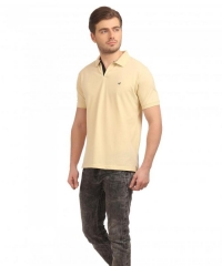NevaIndia Polo Cream t-shirt