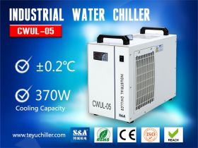 Refrigeration Air Cooled Chiller for UV Laser Mark