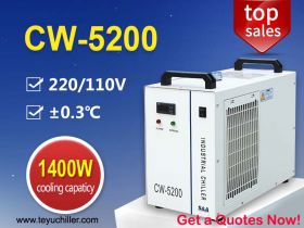 Compact Water Chiller CW5200 for 130W DC Co2 Laser