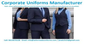 Corporate Uniform Manufacturers