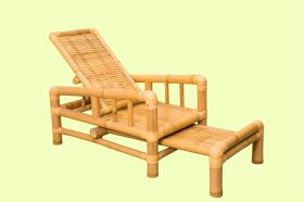Bamboo Lazy Chair Type 1