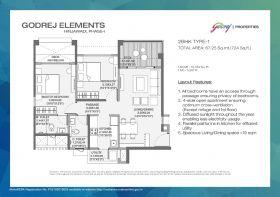 Godrej Elements Hinjewadi Floor Plan
