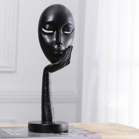 Modern Art | Furnishings | Face Statue