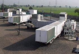 30 MW TM 2500 Mobile Trailer Mounted Gas Turbine