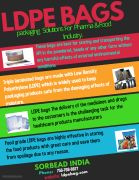 Pharma Grade LDPE bags