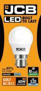 JCB Golf BC 6w 520lm LED Opal Bulb