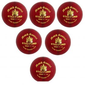 SF Match Special Red Cricket Ball 12 Ball Set