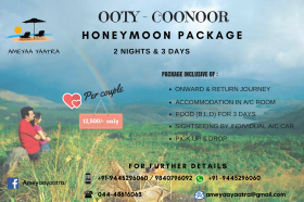 Honeymoon Package - Ooty , Coonoor