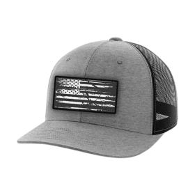 Heather Grey American Flag Hat | Tactical Pro Supp